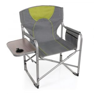 camping chair with side table n main folding chair