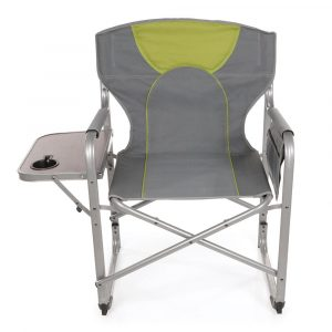 camping chair with side table n folding chair