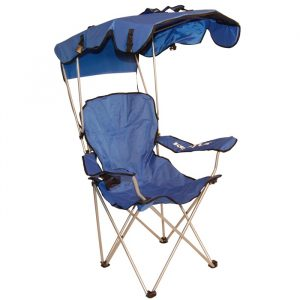 canopied beach chair kelsyus original canopy chair blue image