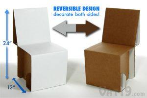 cardboard chair design elia cardboard chair reversible design