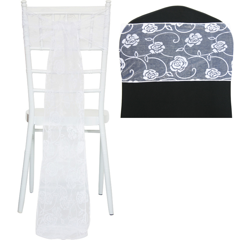 chair cover and sash
