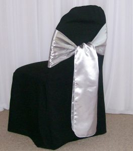 chair covers and sash banquet chair covers with sash