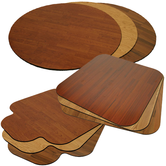 chair floor matt wood chair mat all styles
