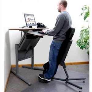 chair for standing desk chair height for standing desk