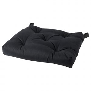 chair pad ikea malinda chair cushion black pe s