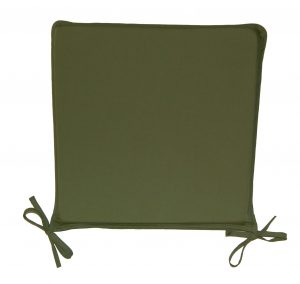chair seat cushions basic seat pad dark green