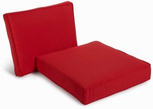 chair seat cushions classic outdoor single chair cushion sets red color cushion inch deep seat cushion set garden treasures cushion set