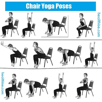 chair yoga postures chair yoga poses