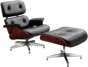 charles eames chair charles eames style leather lounge chair