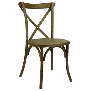 children folding chair cross back chair black grain