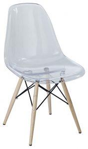 clear plastic chair modern chairs
