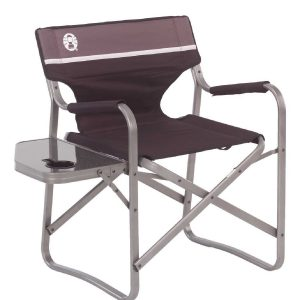 coleman folding chair coleman deck chair with table