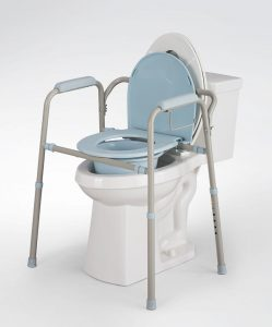 commode chair over toilet tupdhrl