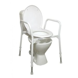 commode chair over toilet nov aca commode x
