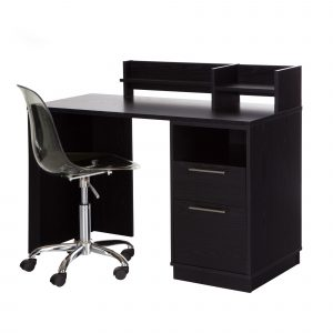 computer desk and chair set south shore academic computer desk with hutch and chair set wayfair