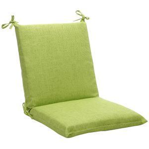 cushion for outdoor chair squared solid green textured outdoor chair cushion l