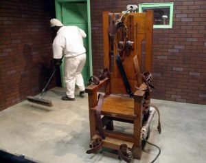 death penalty electric chair prison museum