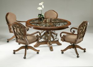 dinette table and chair w piece dinette set cr rgb