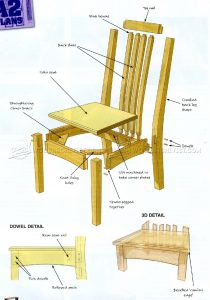 dining chair plans oak dining chairs plans