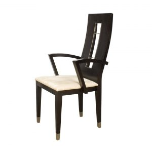 dining chair with arm sharelle furnishings novo w armchair wenge novo arm dining chair wenge novo w armchair wenge