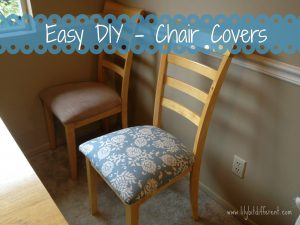 diy chair covers text
