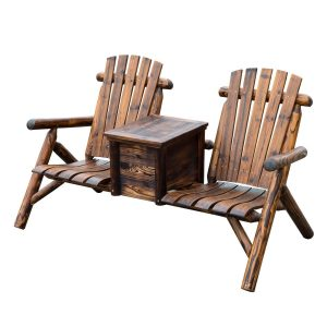 double adirondack chair $