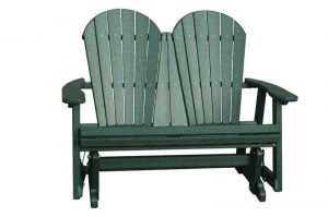 double adirondack chair poly chairs