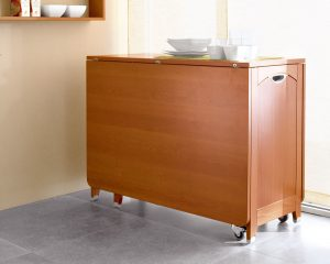 drop leaf table with chair storage wooden rolling drop leaf table with chair storage