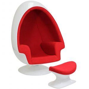egg pod chair eei red