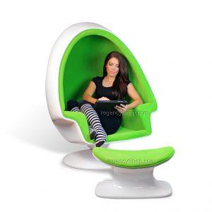 egg pod chair speaker egg chair