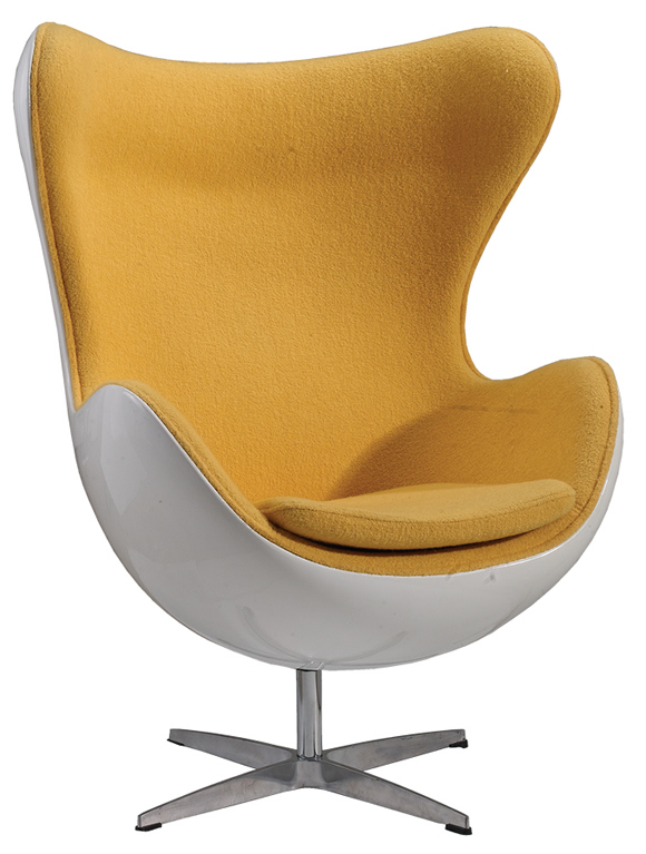 Egg Formed Chair. Egg Shaped Chair