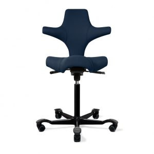 ergo depot capisco chair chicago saphire black