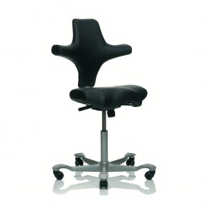 ergo depot capisco chair capisco black leather silver