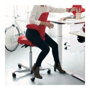 ergo depot capisco chair capisco red backwards