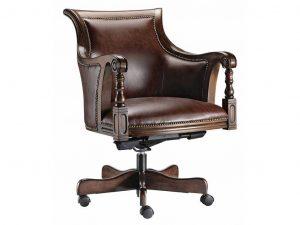 ergonomic chair cushion classic oak wood swivel desk chair