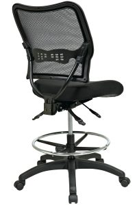 ergonomic drafting chair nd back