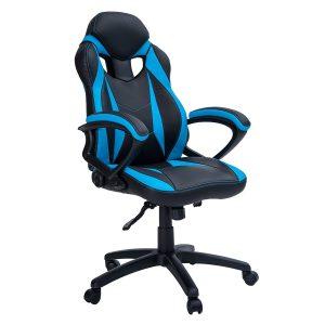 ergonomic gaming chair merax ergonomic racing style leather gaming chair