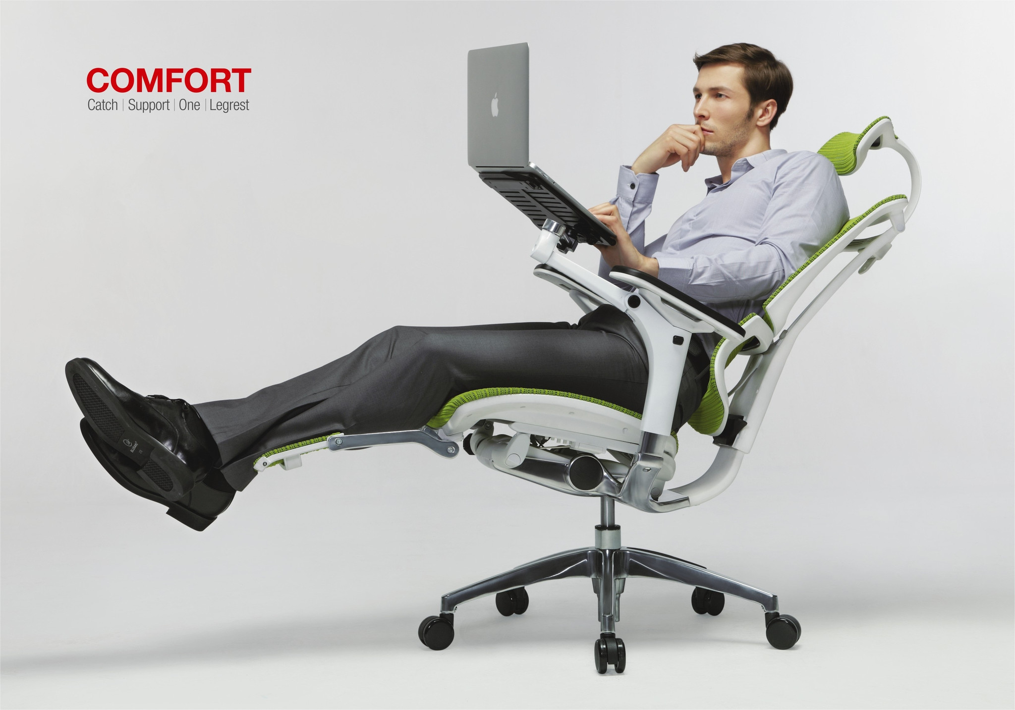 ergonomic lounge chair