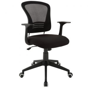 ergonomic office chair with lumbar support poise modern ergonomic mesh back office chair with lumbar support black