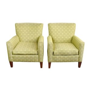 ethan allen chair second hand ethan allen green upholstered accent chairs