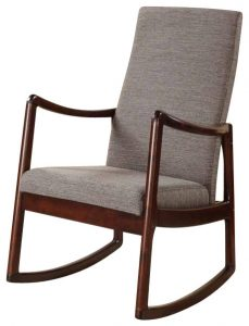 fabric rocking chair scandinavian rocking chairs