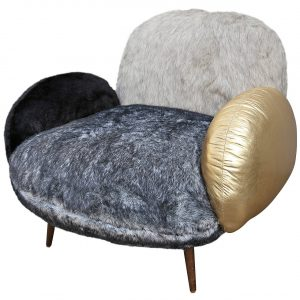 faux fur chair l