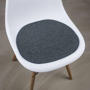 felt chair pads werktat felt seat pad suitable for eames chair bic