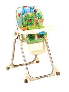 fisher price rainforest high chair cadeira de alimentaco fisher price rainforest d nq np mlb f