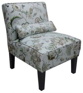 floral accent chair traditional armchairs and accent chairs