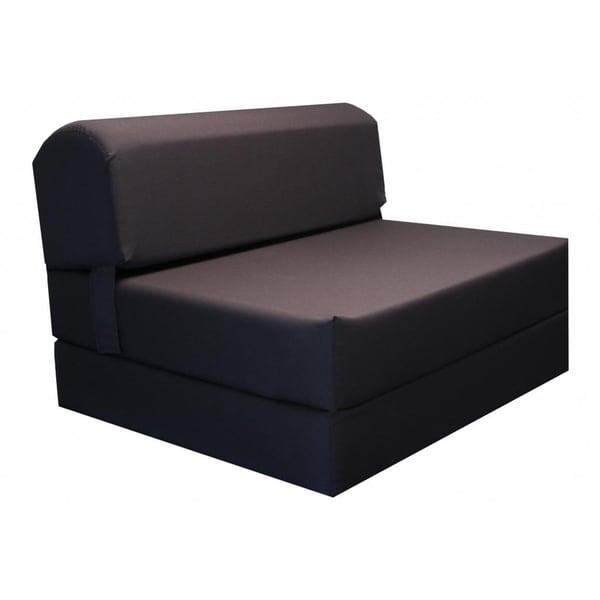 foam chair bed brown tri fold foam chair bed mat dc bd b abb acd
