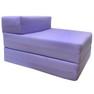 foam chair bed lilac