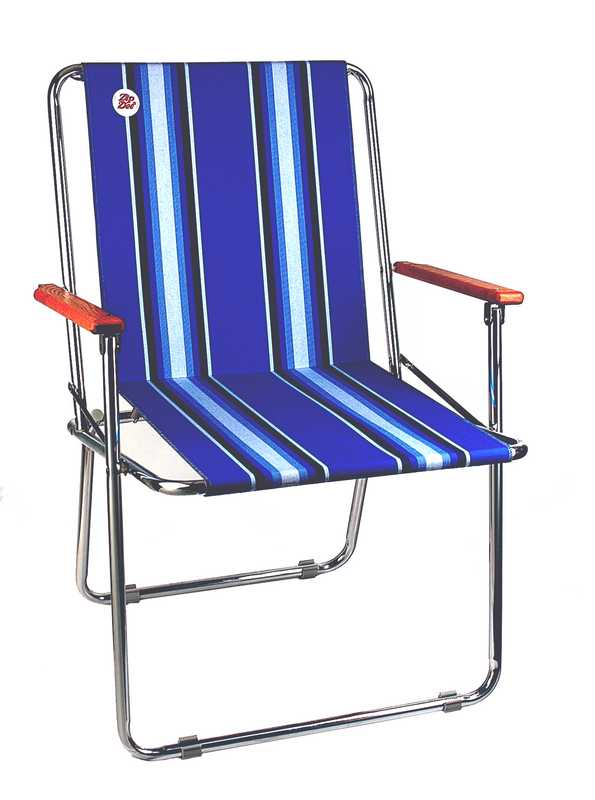 fold up chair small zip dee chair blue fancy front