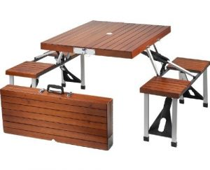 fold up table and chair folding table