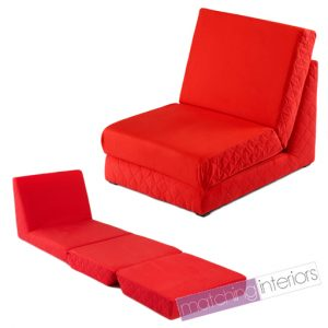 folding bed chair zfs mg red